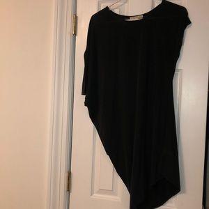 Angled dress